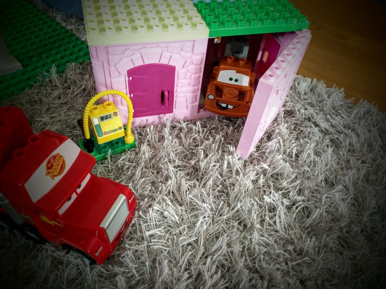 Duplo, Lego, Cars, Lightning McQueen, Mater, Mack