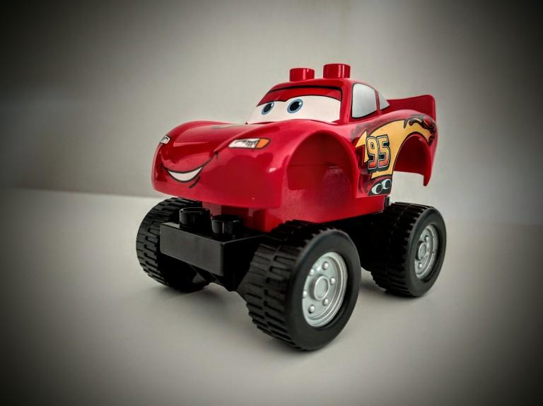 Duplo, Lego, Cars, Lightning McQueen