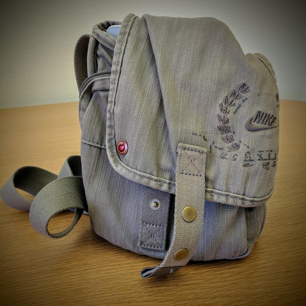 Man purse, shoulder bag, Nike Messenger bag