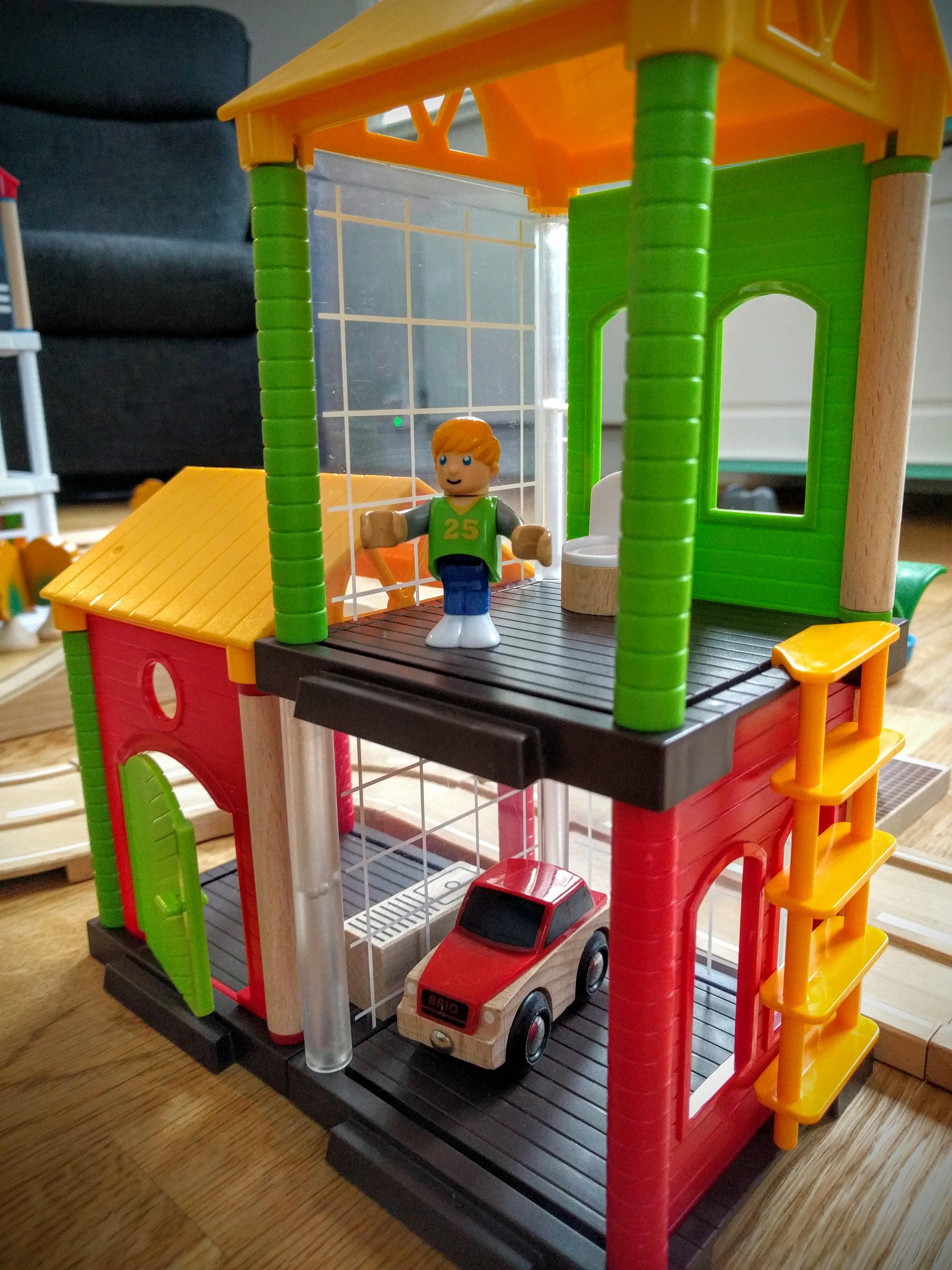 Brio Village addition to your wooden train set testoftimes